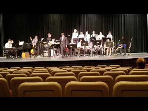 Viera High School Jazz Band MPA performance Feb 16, 2017