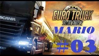 Euro Truck Simulator 2 (карта МАРИО), Берлин - Выборг #03