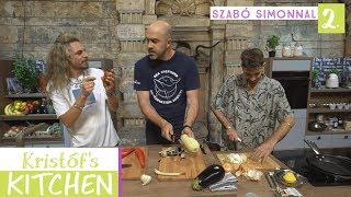 Gambar cover Kristóf's Kitchen in The Studios - vegán főzős talkshow - 2. rész - Szabó Simonnal