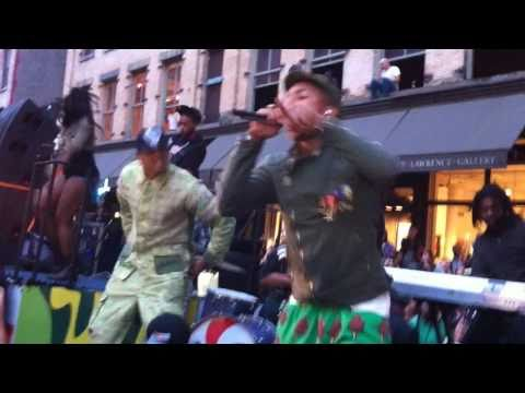 N.E.R.D. - Party People LIVE With Chris Brown #FNO NYC