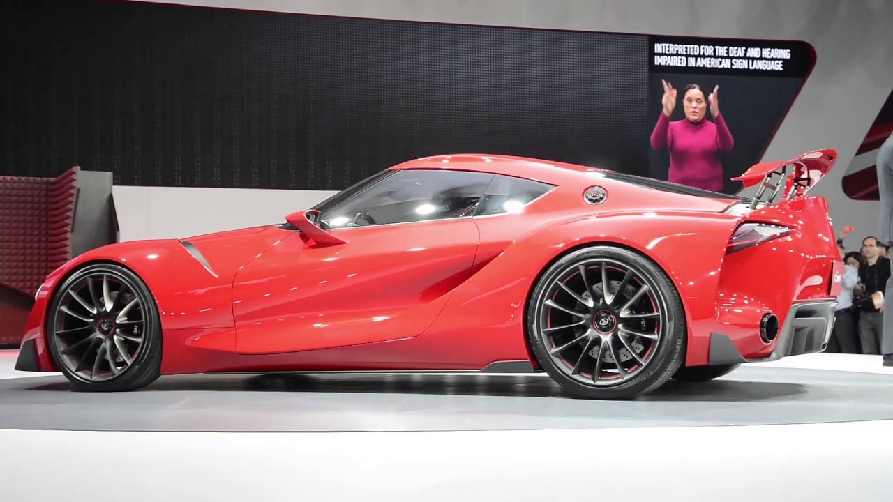Toyota Ft 1 Concept Detroit 2014 Walkaround Youtube 2014 toyota ft 1 vision gt 2