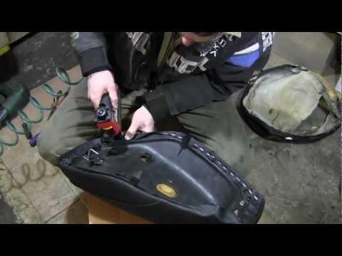 Как перешить сиденье на скутере