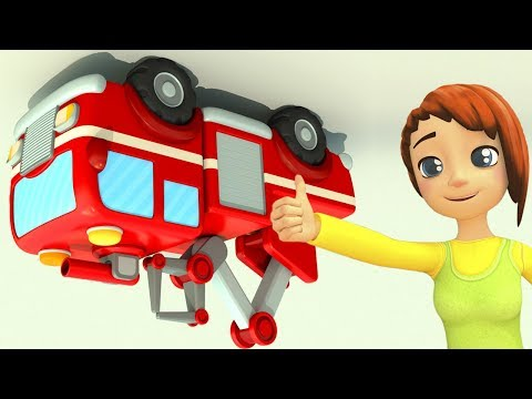 🔴🔵Cars and Trucks adventures LIVE at First Toons   Learn colours and play with Leo the Truck