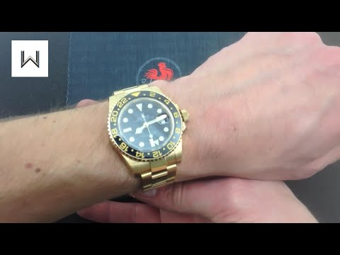 Rolex GMT-Master II 116718 (18-K Yellow Gold) Luxury Watch Review