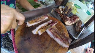 Indonesia Medan Street Food 2907 Part.1 Babi Gurih Manis Ci Yeni YDXJ0566