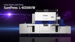 SurePress L-6034VW | Inkjet Digital Label Press