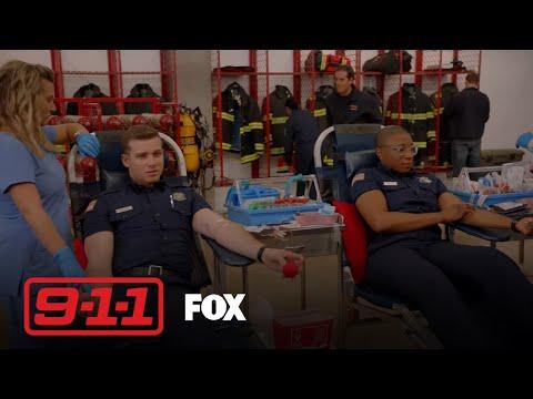 The Fire Station Host A Blood Drive  Season 1 Ep. 8  911