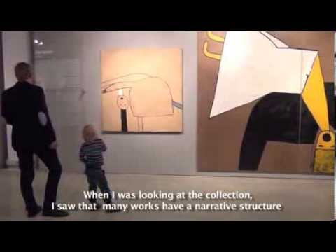 Video reportage from Latvian Contemporary Art Museum's collection display