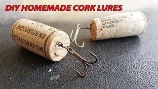 Homemade Cork Fishing Lure DIY | Monster Mike Fishing