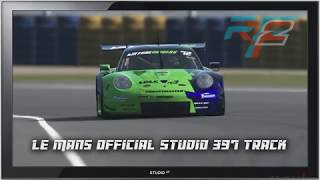rFactor 2 - Studio 397 Le Mans track (1080p)