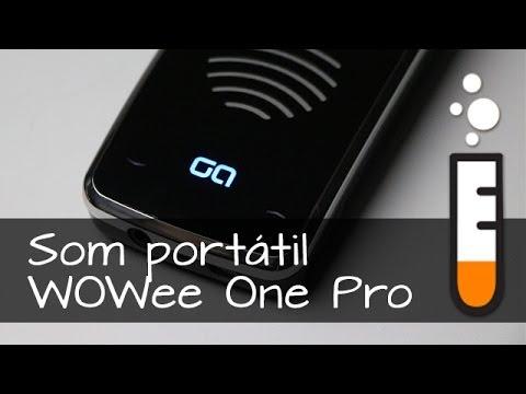 Caixinha de som Bluetooth WOWee One Pro - Resenha Brasil