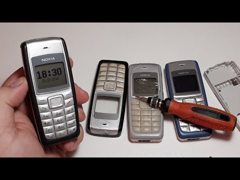 Nokia 1110. Nokia 1110i. Nokia 2310. Ремонт и восстановление. Секретные коды для телефона.