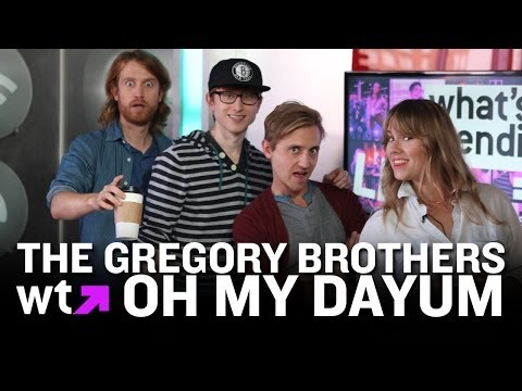 The Gregory Brothers Perform Oh My Dayum | What's Trending LIVE