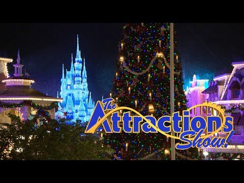 The Attractions Show - Disney's Very Merry Party; Universal Holidays; latest news