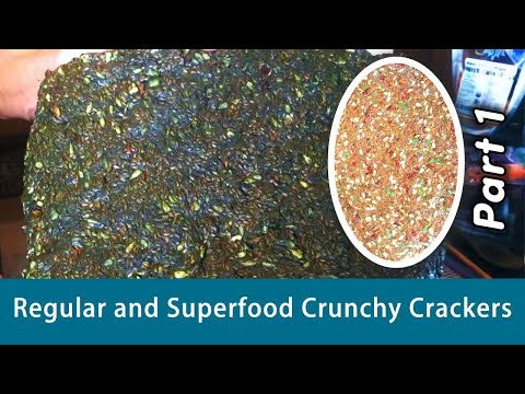 Dr Robert Cassar, Creating ''Regular & Superfood Crunchy Cra