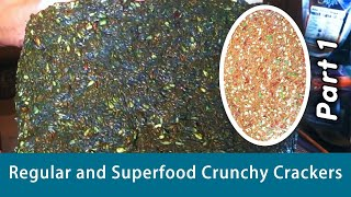 Dr Robert Cassar, Creating ''regular & Superfood Crunchy Crackers'' With Melody Rocca In Hd 2015