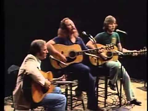 7 - Stin - Teach your Children - Crosby, Stills and Nash (Live with lyrics)