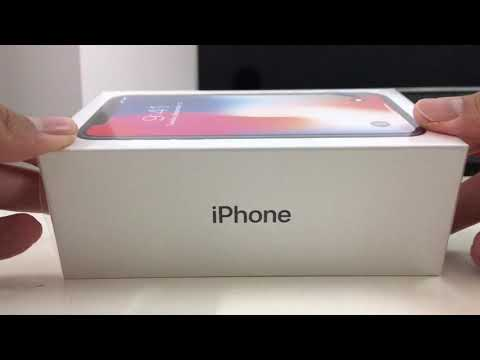 Malaysia official Apple iPhone x unboxing
