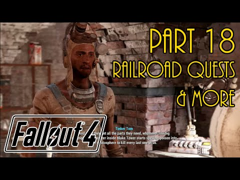 Let's Play Fallout 4 Live - Part 18 - Settlement Mission and Freedom Road Missions