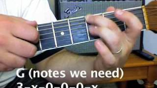 Plain White Tees - Hey There Delilah - How to play on guitar tutorial acoustic guitar songs
