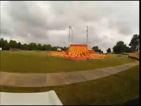 Cirkus Summarumteltet er oppe!