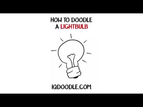 How to Draw a Lightbulb (drawing tips)