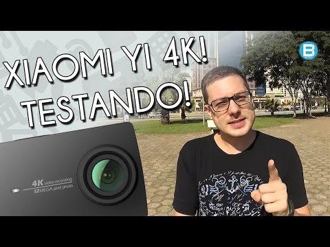 Teste da camera Xiaomi Yi 4k! A MATADORA de GoPro!? Uma ótima Action Cam!
