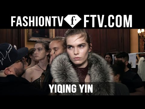 Yiqing Yin Hair & Makeup S/S 16 Paris Haute Couture | FashionTV