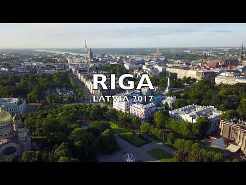 RIGA, Latvia 2017 / Video description 4K and editing - J.O.A