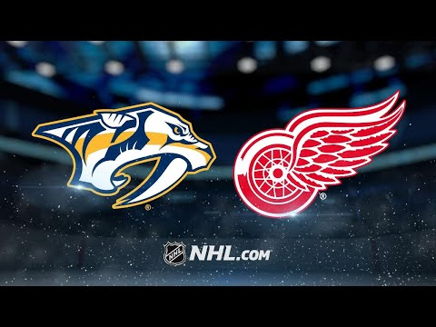 Arvidsson, Josi key Preds' 3-2 win against Red Wings