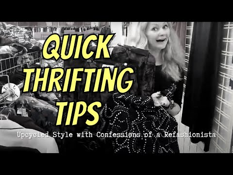 Thrifting Quickies #1 with Confessions of...
