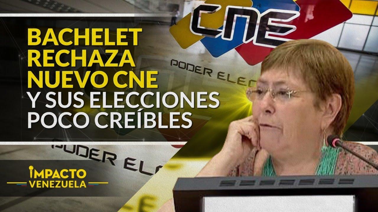 BACHELET: Ajusticiamientos en Venezuela llegan a la ONU | Impacto Venezuela
