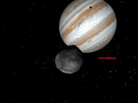 Asteroid Amalthea