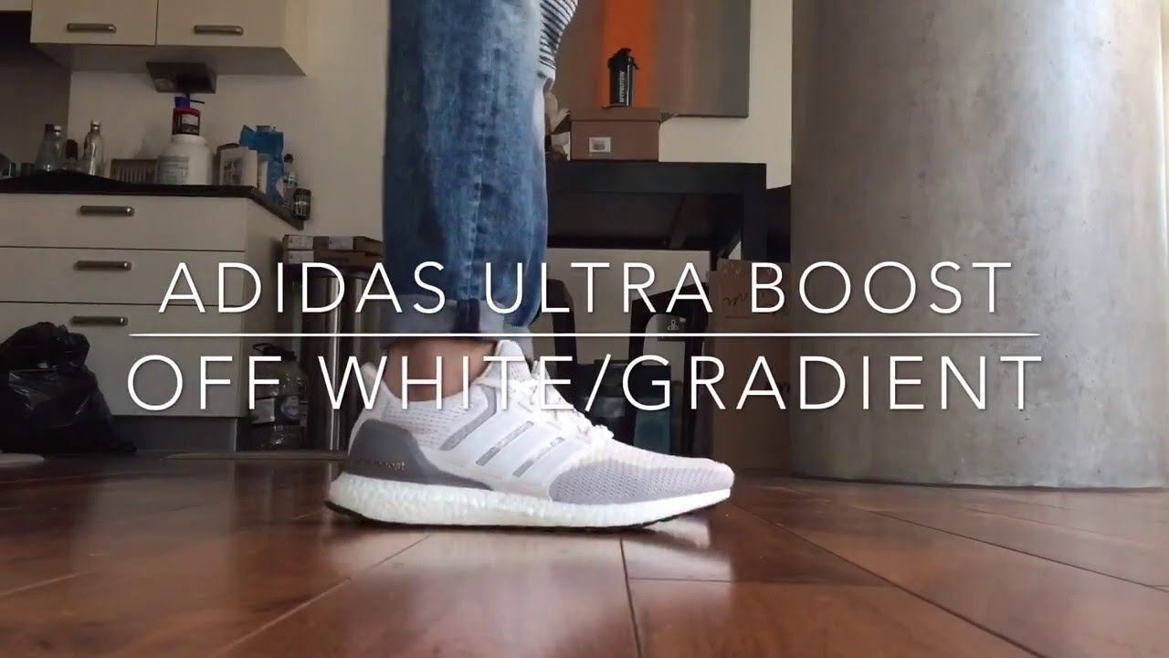 Adidas Ultra boost 'Off White Gradient' Quick on feet