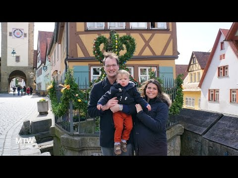 Rothenburg ob der Tauber! - March 29, 2016 - MeetTheWengers Daily Vlog