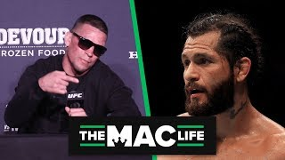 Nate Diaz calls out Jorge Masvidal; Wants to defend