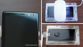 [EASY STEPS] WhiteStone Dome Glass Screen Protector for Galaxy Note 8 Installation