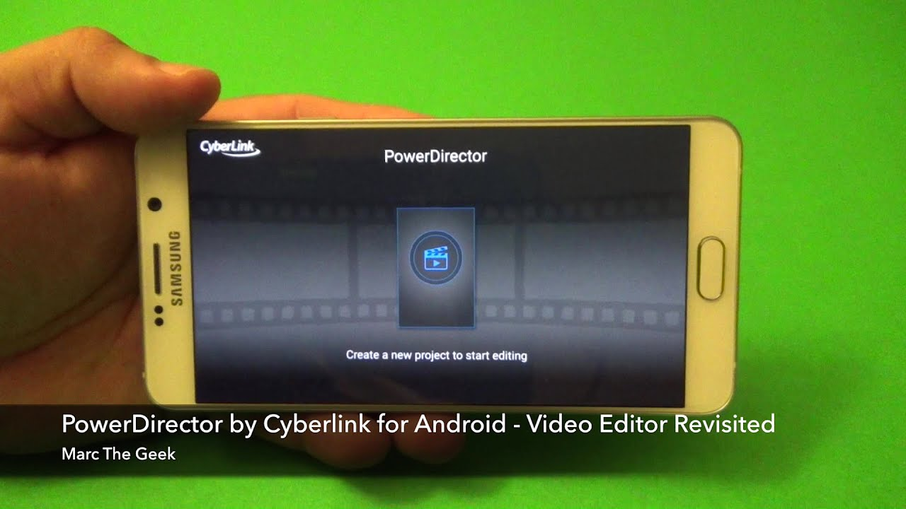 Phone Photo Editing Software For Android Phone powerdirector for android video editing app revisited youtube