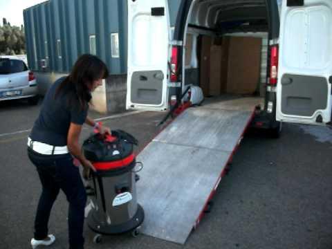 Video rampa di carico per furgoni youtube for Rampe di carico per auto