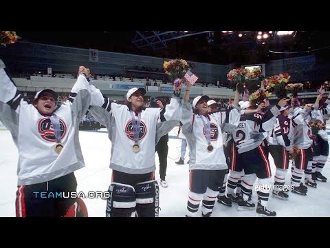 1998 Women's Ice Hockey | Great Moments In Team USA History