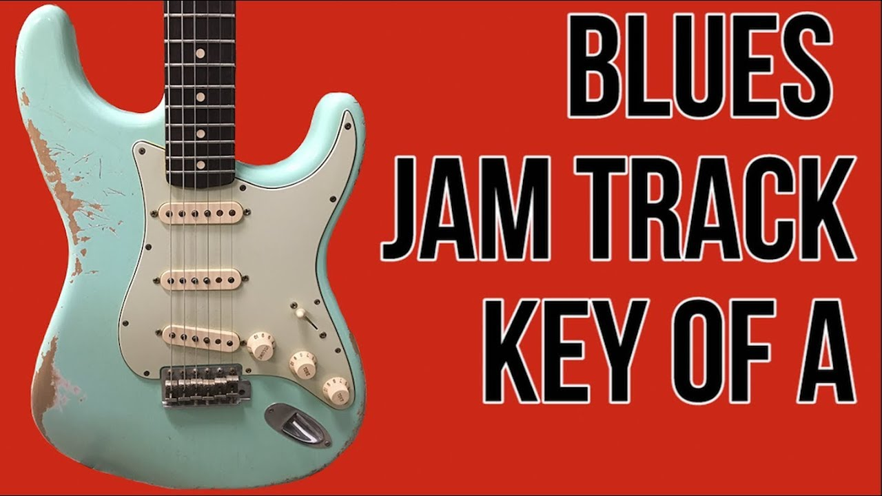 free blues backing tracks for guitar