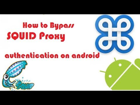 how to setup proxy authentication on android