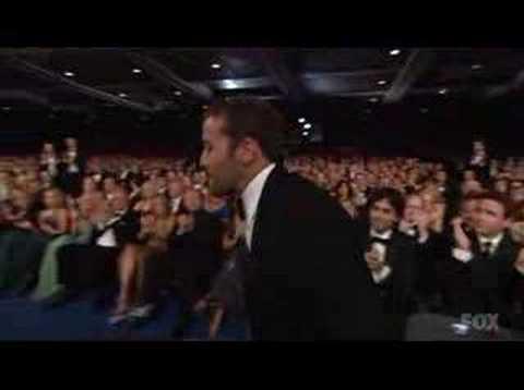 Jeremy Piven Win Emmy 2007
