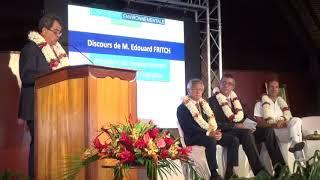 Conférence Environnementale du Pacifique - Discours d'ouverture et Table Ronde n°1