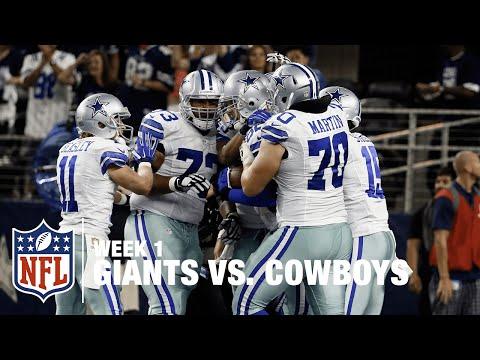 Tony Romo to Jason Witten for the WIN! | Giants vs. Cowboys | NFL