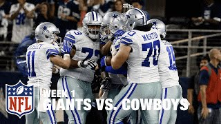 Tony Romo to Jason Witten for the WIN! | Giants vs. Cowboys | NFL