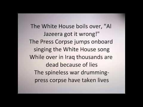 Anti Flag - The Press Corpse (Lyrics)