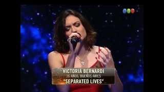 "Semifinal: Victoria canta ""Separate lives"" - Elegidos"
