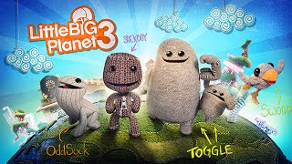 "Little Big Planet 3 - PS3 Gameplay First Look ""LBP3"" Preview (HD)"