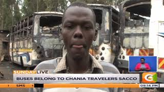 Suspected arsonists torch 13 buses in Thika